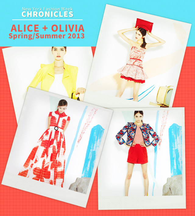 Alice + Olivia Spring 2013 Collectio (39)