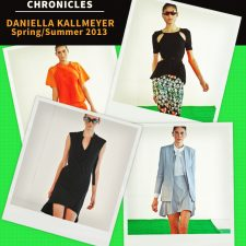 Fashion Week Chronicles: Sporty Luxe for Daniella Kallmeyer's Stridently Athletic Spring 2013 Collection