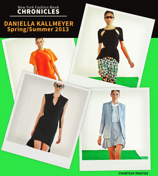 Fashion Week Chronicles: Daniella Kallmeyer