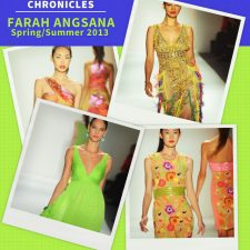 Fashion Week Chronicles: Farah Angsana Fails to Deliver a Cohesive Spring 2013 Collection