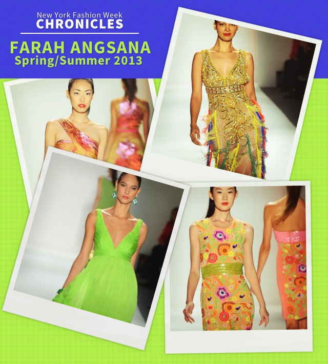 Fashion Week Chronicles: Farah Angsana