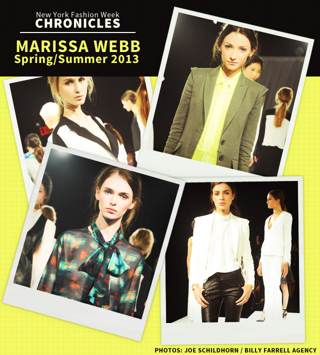 Fashion Week Chronicles: Marissa Webb