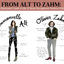 From Alt to Zahm: An Illustrated Guide to the 12 Most Recognized Fashion Editors
