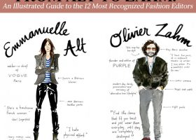 From Alt to Zahm: An Illustrated Guide to the 12 Most Recognized Fashion Editors (13)