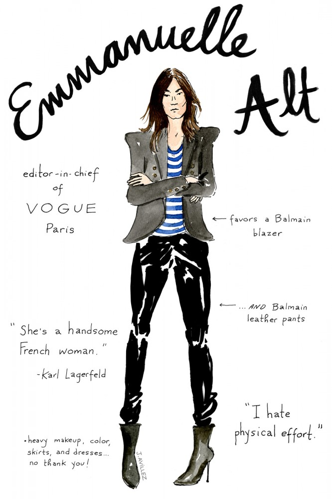 From Alt to Zahm: An Illustrated Guide to the 12 Most Recognized Fashion Editors (2)