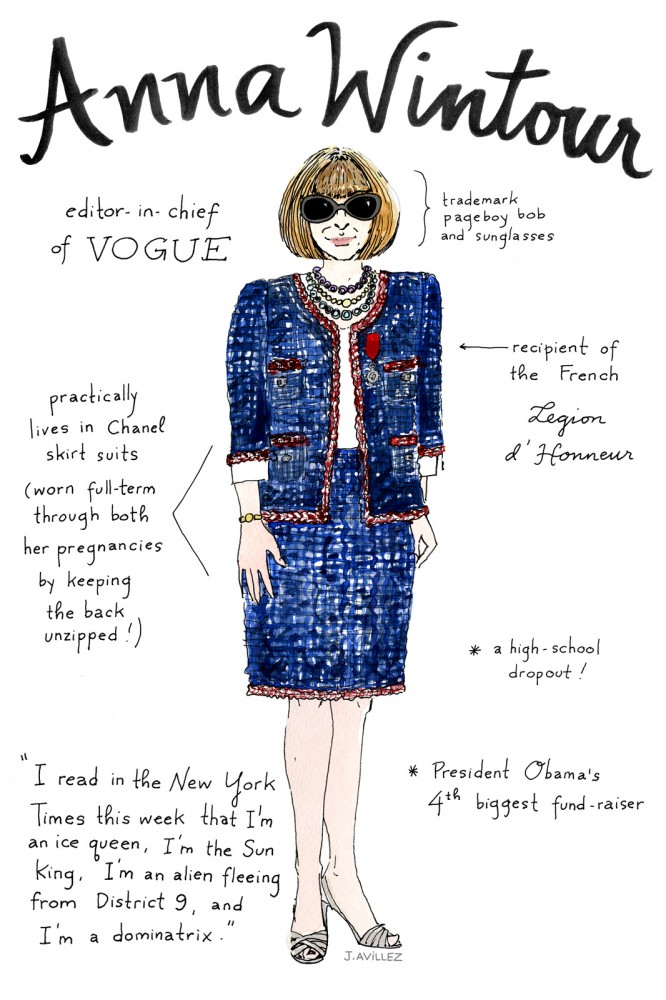 From Alt to Zahm: An Illustrated Guide to the 12 Most Recognized Fashion Editors (3)