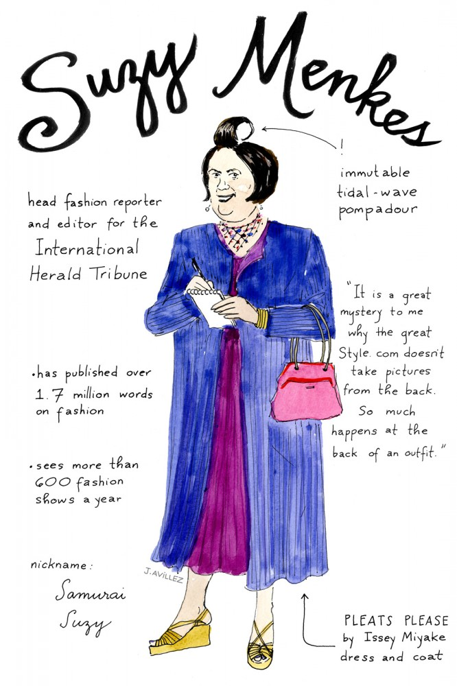 From Alt to Zahm: An Illustrated Guide to the 12 Most Recognized Fashion Editors (11)
