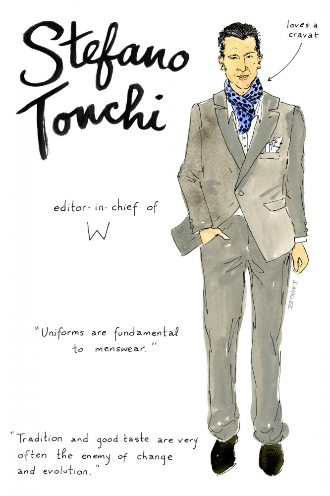 From Alt to Zahm: An Illustrated Guide to the 12 Most Recognized Fashion Editors (12)