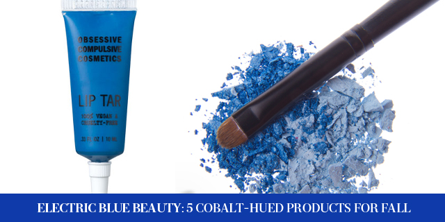 Electric Blue Beauty: 5 Cobalt-Hued Products For Fall (2)