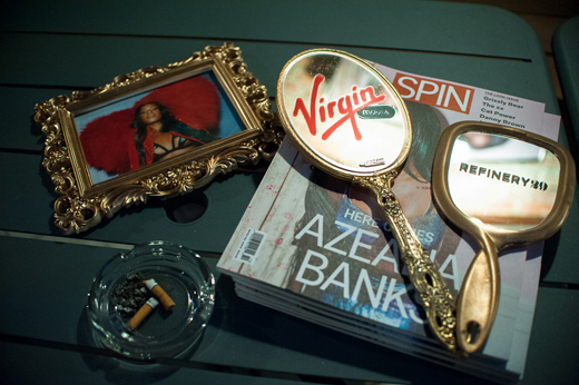 FASHION X MUSIC presented by Virgin Mobile in Collaboration with Refinery29 & SPIN featuring Azealia Banks at the Wythe Hotel (19)