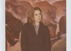 Actress Amy Adams poses for Boy. by Band of Outsiders Autumn 2012 campaign. (15)