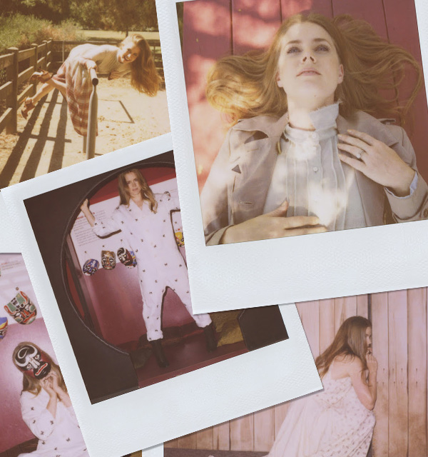 Actress Amy Adams poses for Boy. by Band of Outsiders Autumn 2012 campaign. (24)