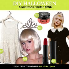 DIY Halloween Costumes Under $100: Courtney Love