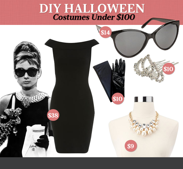 DIY Halloween Costumes Under $100: Holly Golightly 