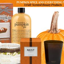 Pumpkin Spice and Everything Nice: 5 Fall-Scented Beauty Products