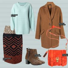 Unexpected Fashion Companions: Cheery Spring Meets Earthy Fall Colors