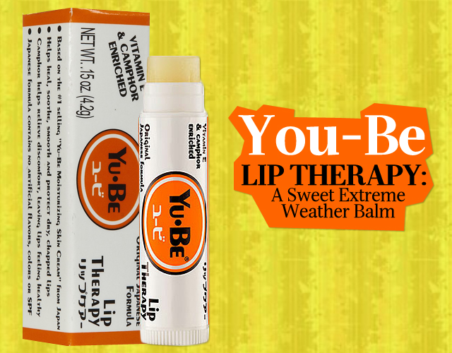 You-Be Lip Therapy: A Sweet Extreme-Weather Balm