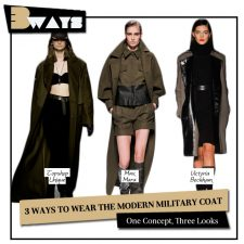 Attention! 3 Ways to Wear the Modern Military Coat