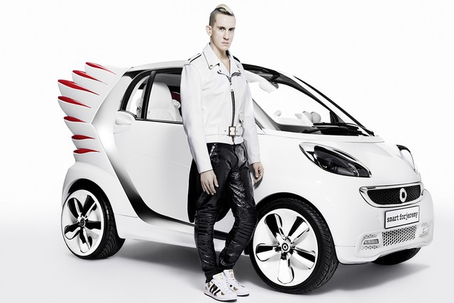 Jeremy Scott's New Smart Car Will Give You Wings