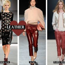 Leather Love – Dominating Winter's Key Pieces