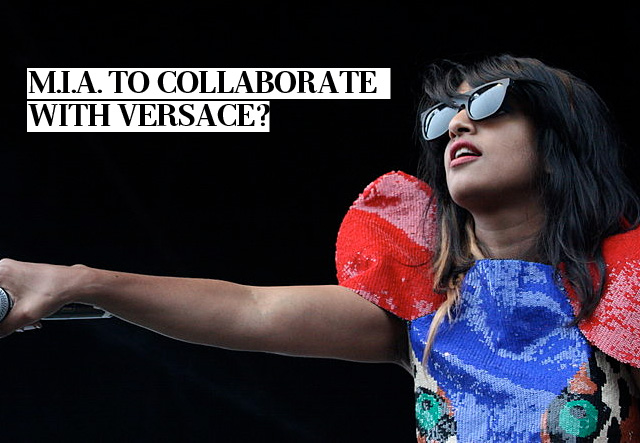 M.I.A. To Collaborate With Versace?