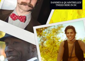 Photo Diary: Dandies & Quaintrelles' Annual Tweed Ride in Washington D.C. (1)