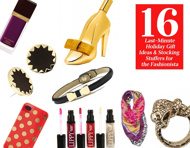 16 Last Minute Holiday Gift Ideas & Stocking Stuffers For The Fashionista
