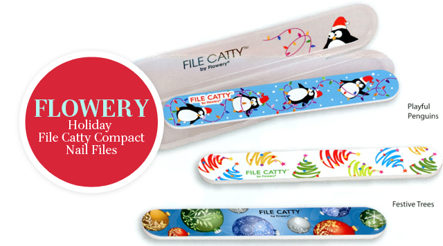 FLOWERY Holiday File Catty