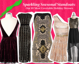 Sparkling Seasonal Standouts: Our 10 Most Covetable Holiday Dresses