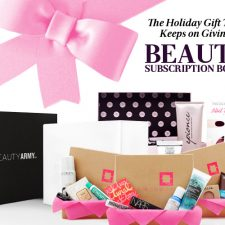 The Holiday Gift That Keeps on Giving: Beauty Subscription Boxes