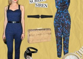 Under $150: Emulating Diane Kruger's 1940s Screen Siren Look