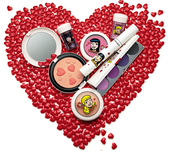 MAC Takes On The Greatest Blonde vs. Brunette Love Triangle with Archie's Girls Collection