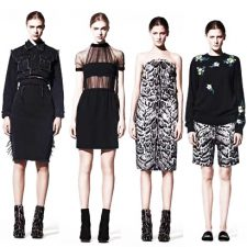 Christopher Kane Draws Inspiration from Hammer Horror Films for His Pre-Fall 2013 Collection