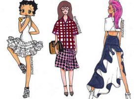 Daria, Sailor Moon And Betty Boop Get Marni, Balmain And Alaia Makeovers