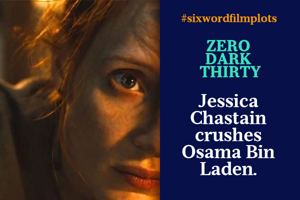 Six Word Film Plots: Zero Dark Thirty