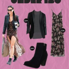 Under $150: Actress Jamie Chung in a Perfect Boho Meets Rock 'n' Roll Moment