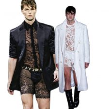 Versace Wants Your Man To Wear Lacy, Pretty Lingerie