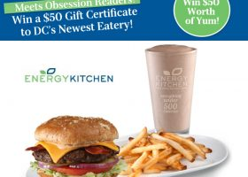 Win A $50 Gift Certificate To Energy Kitchen