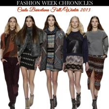 Fashion Week Chronicles: Custo Barcelona F/W 2013 Collection at NYFW