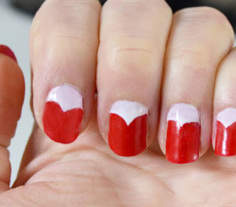 Matter Of Style Valentine's Day Heart Nails Tutorial