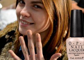 Nailing Fashion Week: OPI on the Runway
