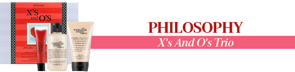 Philosophy X's And O's Trio