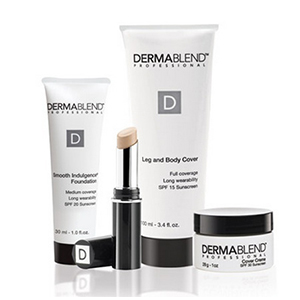 DermaBlend—a cosmetics brand that specializes in corrective coverage.