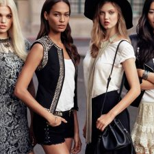 Joan Smalls, Lindsey Wixson, Daphne Groeneveld and Liu Wen Inspire New H&M Collection