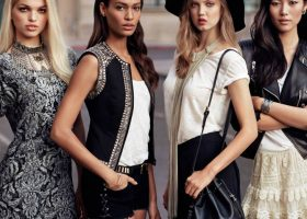 Joan Smalls, Lindsey Wixson And Liu Wen Inspire New H&M Collection