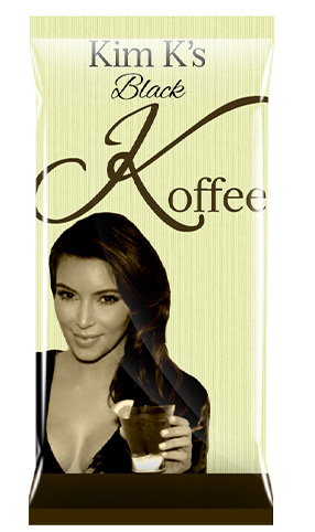 Kim K's Black Coffee