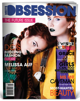 Meets Obsession Magazine The Future Issue