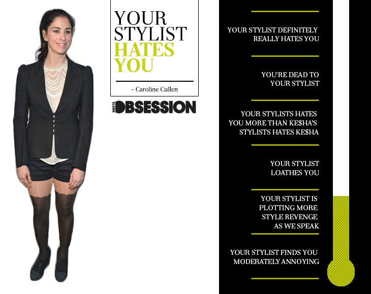 Sarah Silverman, Your Stylist Hates You2