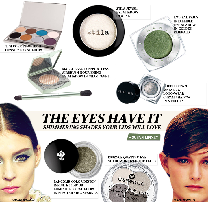 The Eyes Have It: Shimmering Shades Your Lids Will Love
