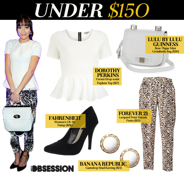 Under $150 Ashley Madekwe In Leopard Print Mulberry